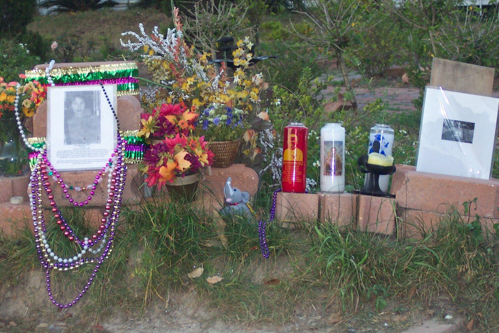 Post Katrina Street Memorial