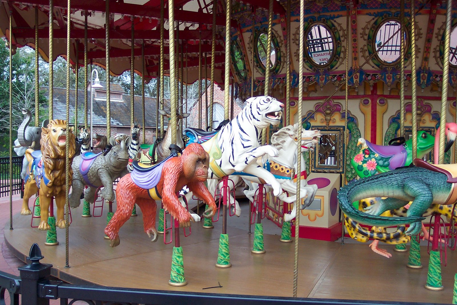 Carousel of Endangered Species